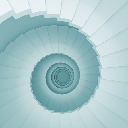 Abstract Staircase photo