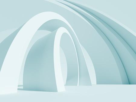 Fond bleu Abstrait Architecture Banque d'images - 8605045