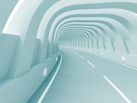 Abstract Tunnel Background Stock Photo - 8640365