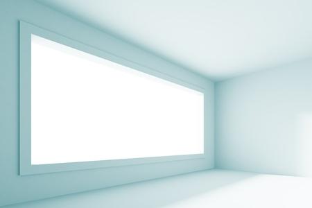 Blue Abstract Empty Room Stock Photo - 8898005
