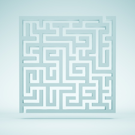 Abstract Maze Background photo