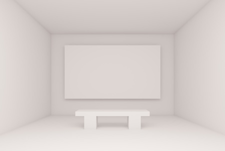 Abstract Gallery Interior Stock Photo - 8897987