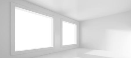 White Empty Room photo
