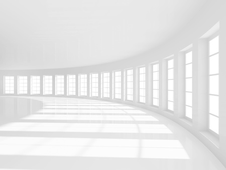 Abstract Empty Hall Background photo