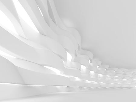 futuristic: White Futuristic Interior Background
