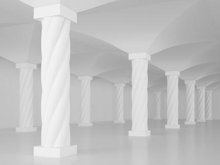 Interior Columns or Architectural Background photo