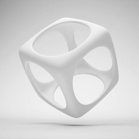 White Design Element or Logo Zdjęcie Seryjne