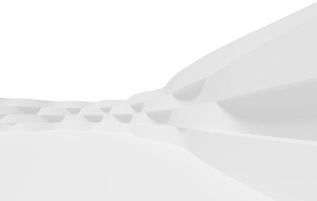 White Futuristic Inter Background Stock Photo - 9241329