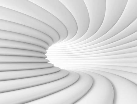 White Abstract Tunnel Background photo
