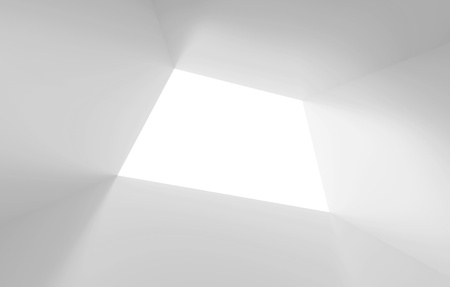 tunnel vision: White Abstract Tunnel Background