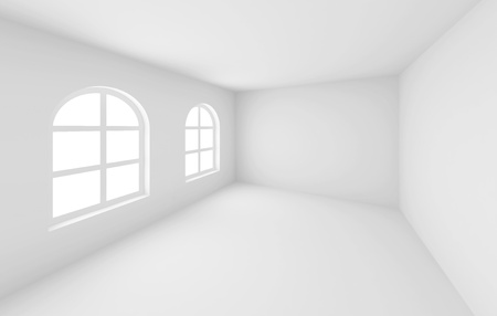 Abstract Empty Room Stock Photo - 9313258