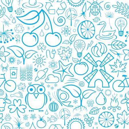 Seamless Background or Wallpaper Stock Vector - 9412097
