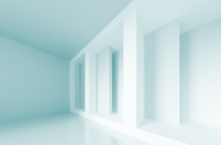 Abstract Interior Background Stock Photo
