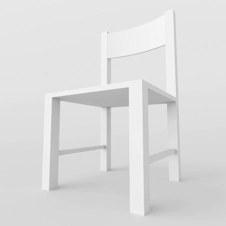 White Chair Stock Photo - 9905128