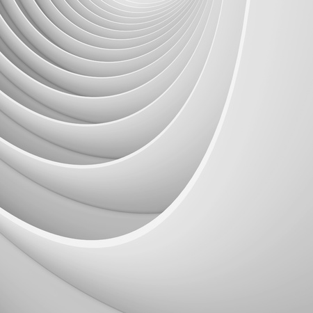 Abstract Architectural Shape photo