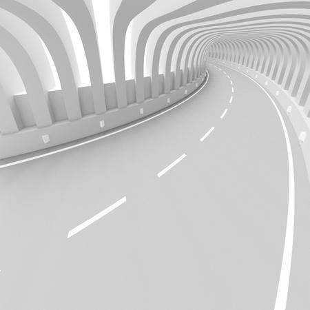 Futuristic Tunnel Background photo