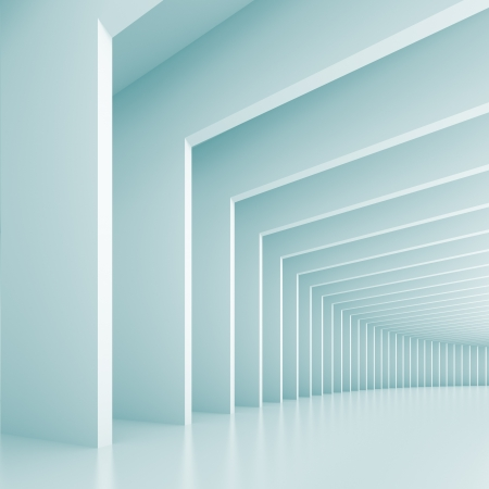 light tunnel: Abstract Architecture Background