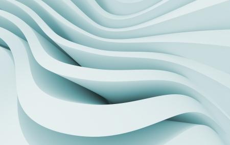 3D-afbeelding van Blue Abstract Architectuur achtergrond Stockfoto