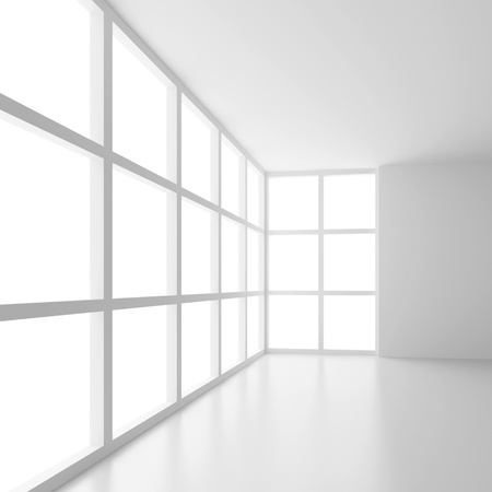 Futuristic Empty Room photo