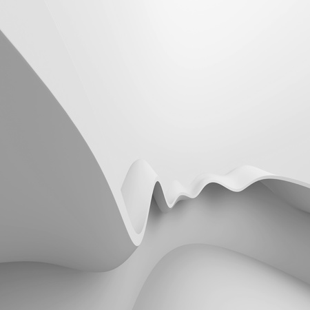 White Abstract Construction photo