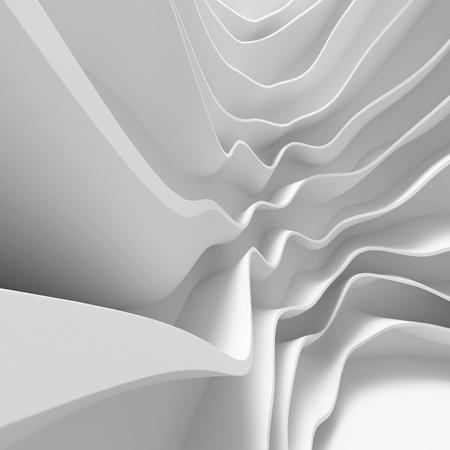 futuristic interior: White Abstract Architecture Wallpaper Stock Photo
