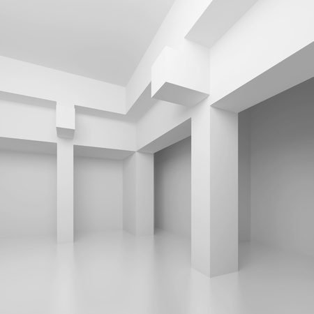 White Interior Background photo