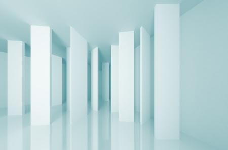 futuristic interior: Abstract Architecture Background