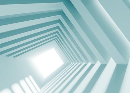 futuristic interior: Industrial Design