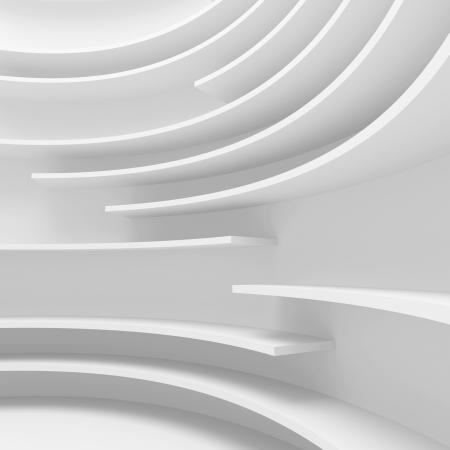 Futuristic Architecture Design Stock fotó - 13652430