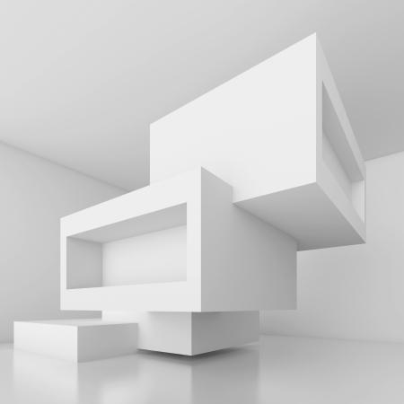 futuristic interior: Abstract Architecture Design