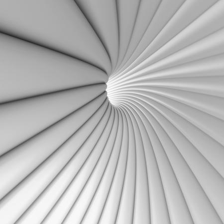 futuristic interior: 3d Abstract Architecture Design