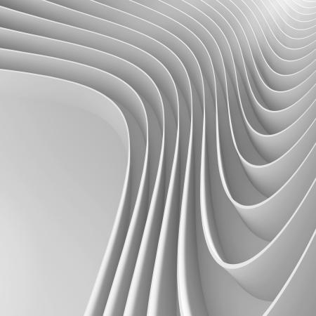 futuristic interior: Creative Architecture Concept