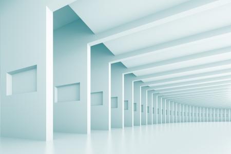 トンネルの抽象的な背景