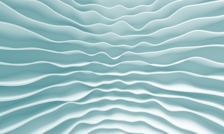 3d Blue Abstract Minimal Design photo