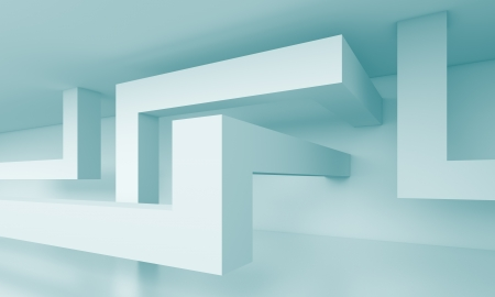 3d Abstract Building Blocks Background Stock Photo - 17221016