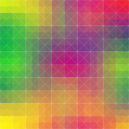 quadrat: Pastel Mosaic Wallpaper Illustration