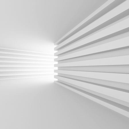 3d Abstract Interior Concept photo