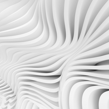 3 d の白のモダンな建築デザイン 写真素材