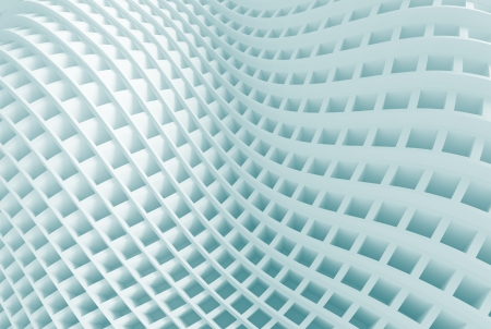 3d Blue Abstract Architecture Background Stock Photo - 18904727