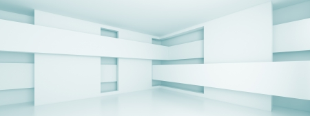 Abstract Horizontal Panoramic Interior Design photo