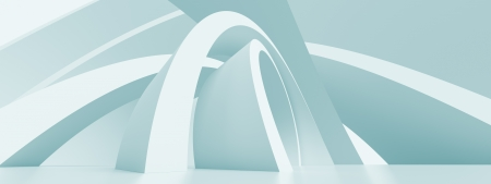 Abstract Horizontal Panoramic Architecture Background photo
