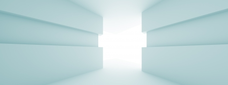 Abstract Horizontal Panoramic Interior Background photo