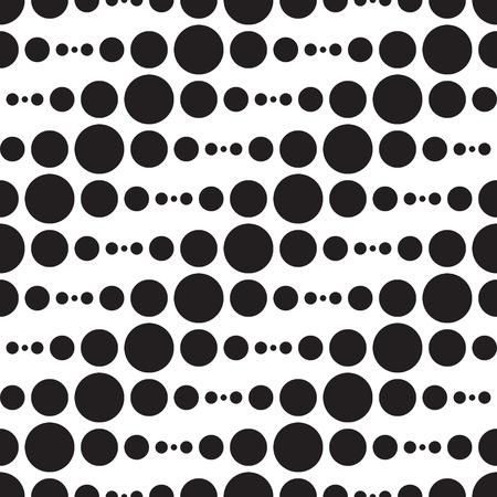 抽象的なモノクロ幾何学的なパターン ベクトル  イラスト・ベクター素材
