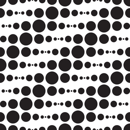 Vector Abstract Monochrome Geometric Pattern Vector