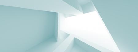 panoramic business: Abstract Horizontal Panoramic Architecture Design