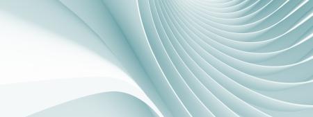 3D 추상적 인 파노라마 아키텍처 배경