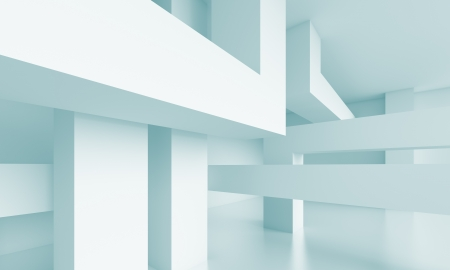 3d Abstract Modern Architecture Background Stock Photo - 20181791