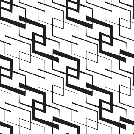 Seamless Monochrome Geometric Wallpaper Stock Vector - 21929389