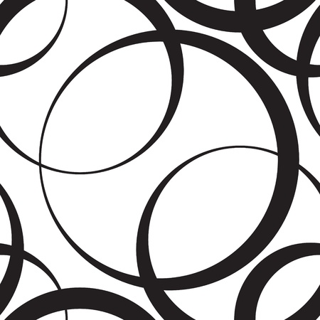 ベクトル抽象的なシームレスなモノクロ背景