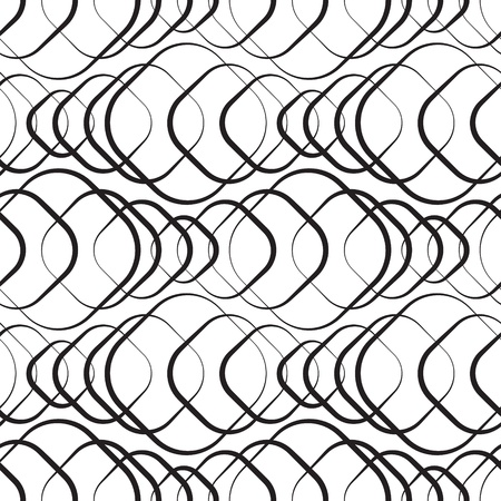 Seamless Monochrome Geometric Wallpaper Stock Vector - 21929408